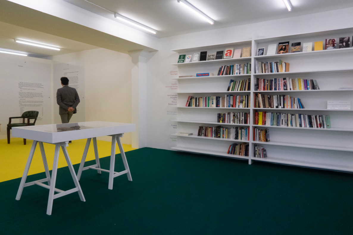 Installation view, Editorial Thinking, Index, 2021